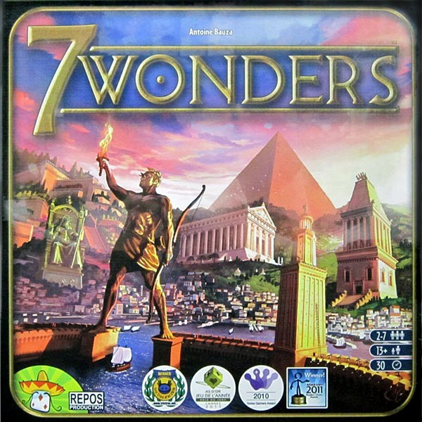 7 Wonders The Mind Cafe Board Games Since Year 2005